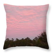 Colorful Sky Number 2 Throw Pillow