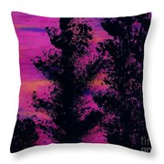 Colorful - Sunset Throw Pillow