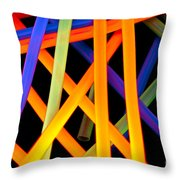 Coloring Between The Lines Throw Pillow