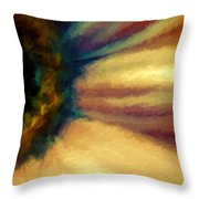 Coloring Flowers Throw Pillow
