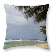 Colors After The Rain Throw Pillow