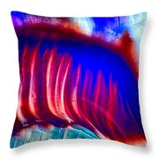 Colors Diving Throw Pillow