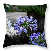 Colors Everywhere Throw Pillow