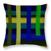 Colors I Throw Pillow