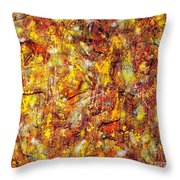 Colors In Motion Throw Pillow