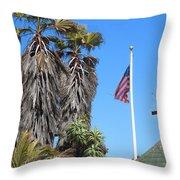 Colors Of California Throw Pillow