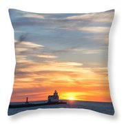 Colors Of Calm Throw Pillow