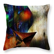 Colors Of Eve Throw Pillow