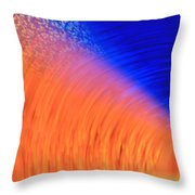 Colors Of Light And Speed Throw Pillow