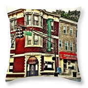 Colors Of Main Throw Pillow