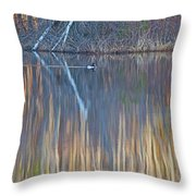 Colors Of March Throw Pillow
