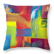 Colors Of Mother Earth Throw Pillow