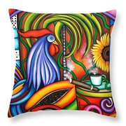 Colors Of My World Throw Pillow