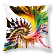 Colors Of Passion Throw Pillow