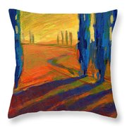 Colors Of Summer 2 Throw Pillow