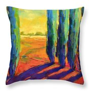 Colors Of Summer 3 Throw Pillow