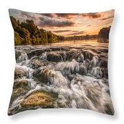 Colors Of Summer Throw Pillow by Davorin Mance