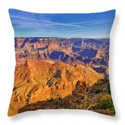 Colors Of The Canyon Throw Pillow