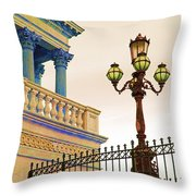 Colors Of The Capitol Hill Throw Pillow