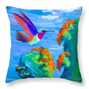 Colors Of The Desert Throw Pillow