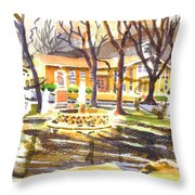 Colors On A Cloudy Day Throw Pillow