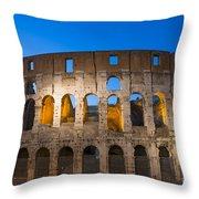 Colosseum  Throw Pillow by Mats Silvan