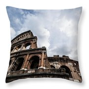 Colosseum  Rome, Italy Throw Pillow