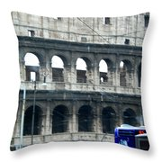 Colosseum Two Throw Pillow