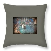 Colossians 2 12 Throw Pillow