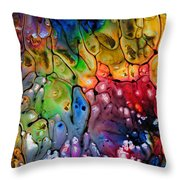 Colour Connection Throw Pillow