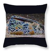 Colourful Crab Throw Pillow