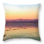 Colourful Dead Sea Throw Pillow