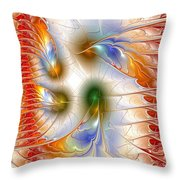 Colourful Emotions Throw Pillow