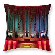 Colourful Organ Throw Pillow