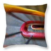 Colourful Rush Throw Pillow