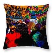 Colours De Nola 2 Throw Pillow