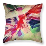 Colours Of A Kingdom Throw Pillow