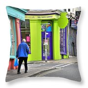 Colours Of Brighton Throw Pillow