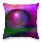 Colours Of Creation 2 Throw Pillow