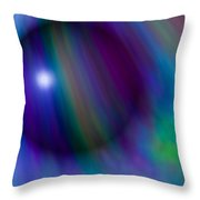 Colours Of Creation Throw Pillow