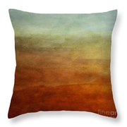 Colours Of The Fall Throw Pillow by Priska Wettstein