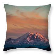 Columbia Crest Throw Pillow