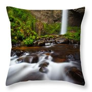 Columbia Gorge Richness Throw Pillow