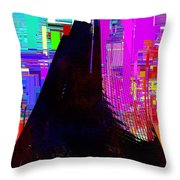 Columbia Tower Cubed 2 Throw Pillow