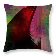 Columbia Tower Cubed 3 Throw Pillow