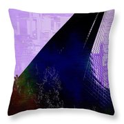 Columbia Tower Cubed 4 Throw Pillow