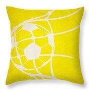 Columbus Crew Goal Throw Pillow