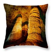 Dome And  Column Throw Pillow