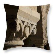 Column Detail Stanford California Throw Pillow