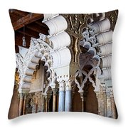 Columns And Arches No2 Throw Pillow